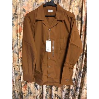 ユニクロ(UNIQLO)のUNIQLO u オープンカラーシャツ 長袖(シャツ)