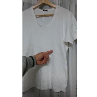デンハム(DENHAM)の【確認用】DENHAM デンハム Tシャツ 白 M(Tシャツ/カットソー(半袖/袖なし))