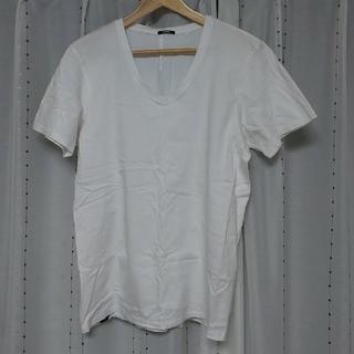 デンハム(DENHAM)のDENHAM デンハム Tシャツ 白 M(Tシャツ/カットソー(半袖/袖なし))