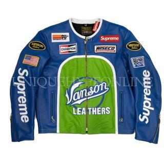 シュプリーム(Supreme)のSupreme  vanson Leather star Jacket(レザージャケット)
