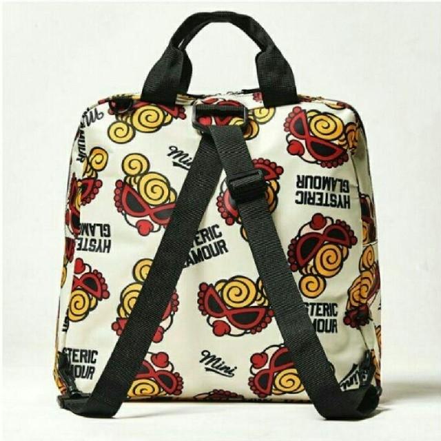 HYSTERIC MINI(ヒステリックミニ)のヒステリックミニ♥MINI FACE 3WAY ショルダーバッグ レディースのバッグ(リュック/バックパック)の商品写真