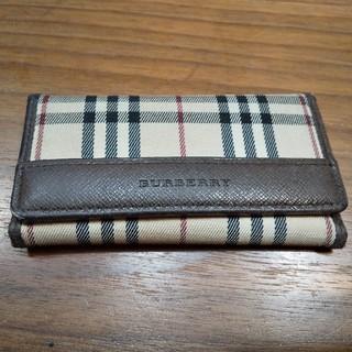 バーバリー(BURBERRY)のBURBERRY バーバリーキーケース 5連 角擦れあり 美品です(^_^)(キーケース)