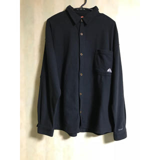 ナイキ(NIKE)の90's NIKE ナイキ ACG エーシージー フリースシャツシャツジャケット(シャツ)