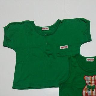 ミキハウス(mikihouse)のシャツ 80cm ミキハウス(シャツ/カットソー)