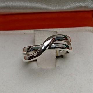 ヨンドシー(4℃)の4℃ クロスモチーフ シルバー リング(リング(指輪))