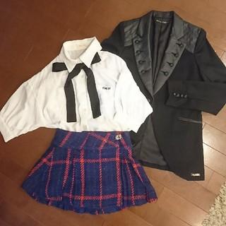 レピピアルマリオ(repipi armario)の卒業 スーツセット repipi bananachips(ドレス/フォーマル)