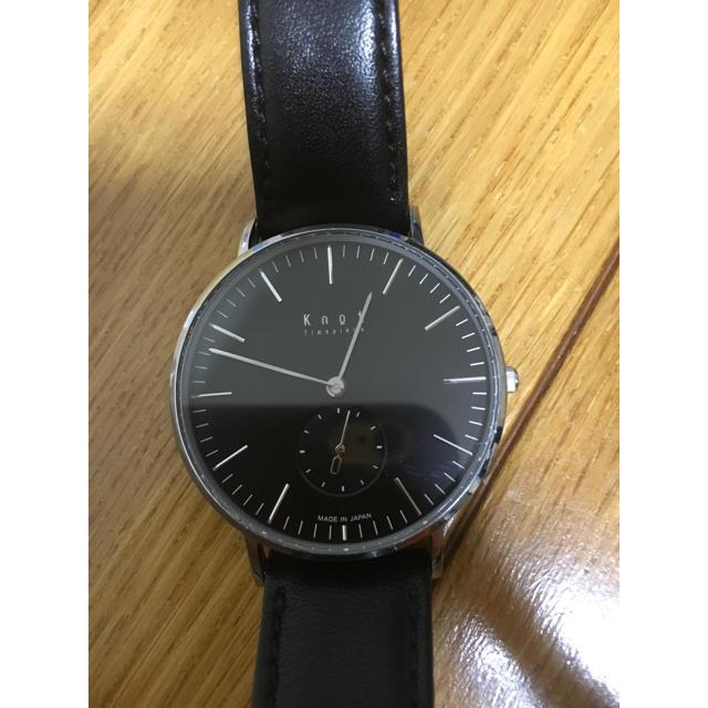 Knot/not(ノットノット)のknot 時計 メンズの時計(腕時計(アナログ))の商品写真