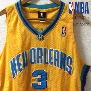 アディダス(adidas)の2324 NBA ペリカンズ ユニフォーム 3(タンクトップ)