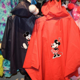 ディズニー(Disney)のディズニー レインコート   ポンチョ 3点セット(レインコート)