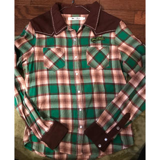 クルー(CRU)のCRU   チェックシャツ(シャツ/ブラウス(長袖/七分))