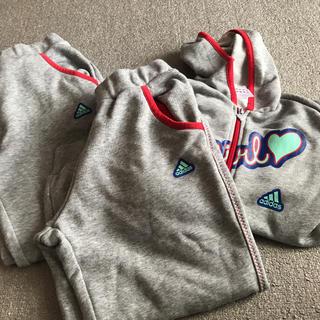 アディダス(adidas)のアディガール3点セット(ジャケット/上着)