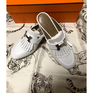 エルメス(Hermes)のエルメス リヴォリ 靴(ローファー/革靴)