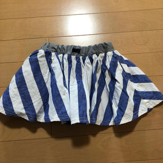 ブリーズ(BREEZE)のプリーツ スカートパンツ(スカート)