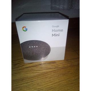 アンドロイド(ANDROID)のGoogle Home Mini チャコール 未開封新品・保証付(スピーカー)