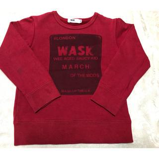 ワスク(WASK)のお値下げ!!bebe☆ wask トレーナー110(Tシャツ/カットソー)