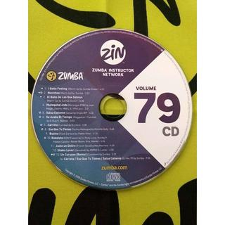 ズンバ(Zumba)のZUMBA ズンバ ZIN79 CD 最新作 インストラクター専用(ワールドミュージック)