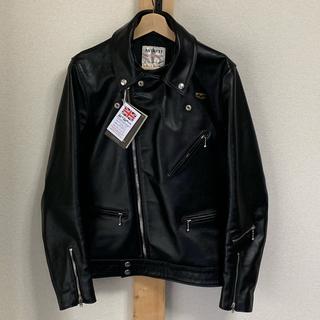 ルイスレザー(Lewis Leathers)のルイスレザー サイクロン 441T サイズ38 ブラック 美品 (ライダースジャケット)