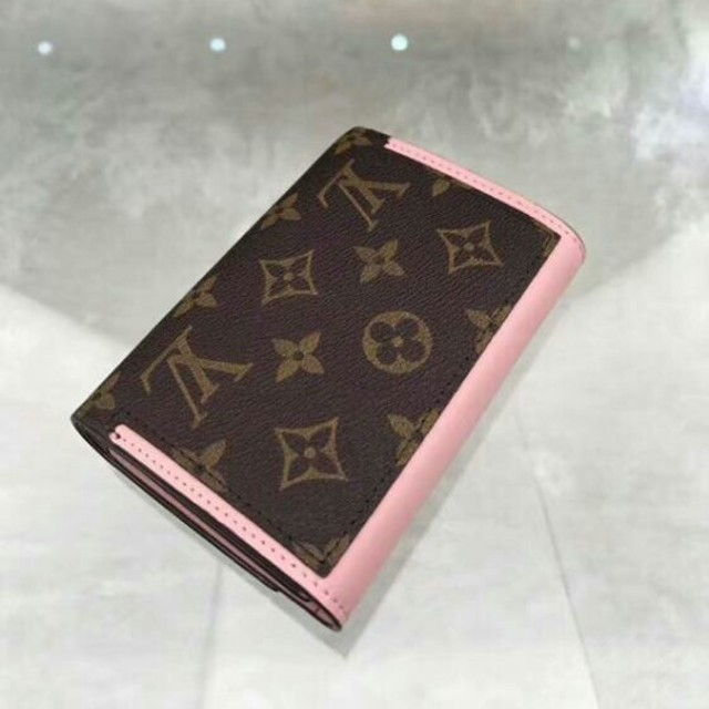 b4f5c581e762 LOUIS VUITTON(ルイヴィトン)のルイヴィトン 財布 モノグラム ポルトフォイユ フロール コンパクト ピンク レディース