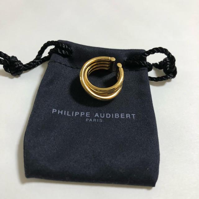 Philippe Audibert(フィリップオーディベール)の【WEB限定】◎PHILIPPE AUDIBERT 4ラインリング  レディースのアクセサリー(リング(指輪))の商品写真
