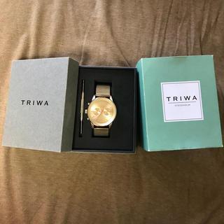 トリワ(TRIWA)のTRIWA 時計 ゴールド(腕時計(アナログ))
