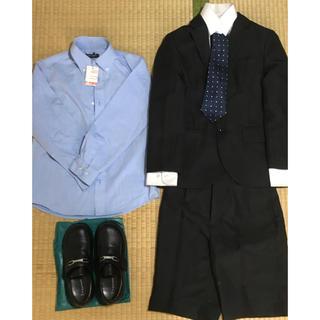 シマムラ(しまむら)の難あり 男の子 130  フォーマル スーツ シューズ(ドレス/フォーマル)