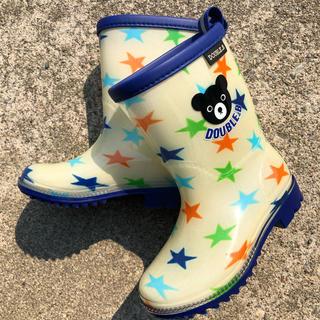 ダブルビー(DOUBLE.B)の★美品★ダブルビー 14cm 長靴(長靴/レインシューズ)