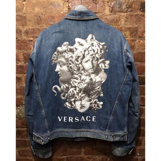 ヴェルサーチ(VERSACE)のversace denim jacket size 56 XL(Gジャン/デニムジャケット)