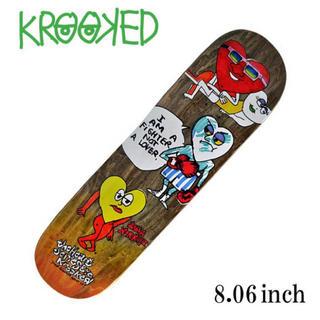 クルキッド(KROOKED)の新品 KROOKED SKATEBOARD 8.06inch(スケートボード)