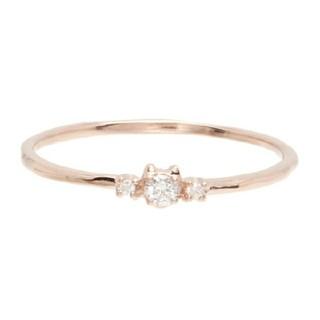 ツモリチサト(TSUMORI CHISATO)のツモリチサトジュエリー ネコダイアモンドリング(リング(指輪))