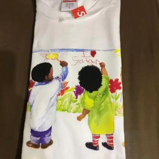 シュプリーム(Supreme)のsupreme kids tee small white(Tシャツ/カットソー(半袖/袖なし))