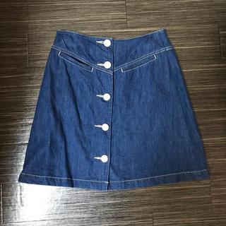 デイシー(deicy)のdeicy デニムスカート(ひざ丈スカート)