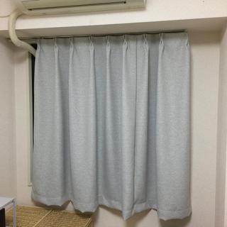 ムジルシリョウヒン(MUJI (無印良品))の【最終価格】遮光カーテンとレースカーテンのセット(カーテン)
