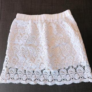 イングリッド(INGRID)の☆INGRID☆新品☆レーススカート☆パンツ☆(ミニスカート)