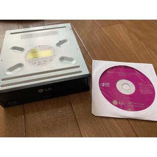エルジーエレクトロニクス(LG Electronics)のブルーレイ内蔵型 LG製 Blu-rayディスクドライブ BH14NS48(PC周辺機器)