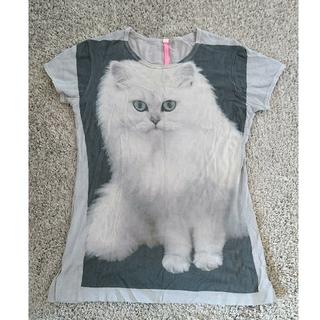 アチャチュムムチャチャ(AHCAHCUM.muchacha)のあちゃちゅむ  猫 Tシャツ🐱(Tシャツ(半袖/袖なし))