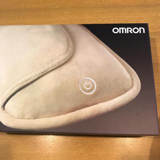 オムロン(OMRON)のオムロン クッションマッサージャー マッサージ 箱あり ベージュ(マッサージ機)