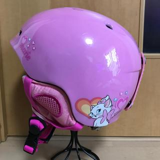 ディズニー(Disney)のマリーちゃん スキー用ヘルメット(ウエア/装備)