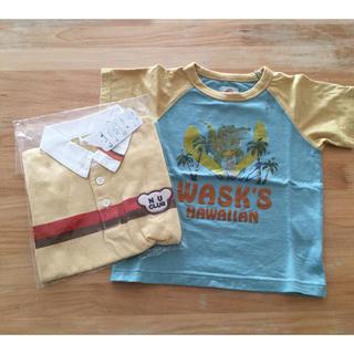 ワスク(WASK)の90☆男の子Tシャツ2枚セット(Tシャツ/カットソー)