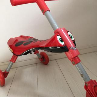 トイザラス(トイザらス)の【送料込み】室内 折りたたみ 三輪車(三輪車)