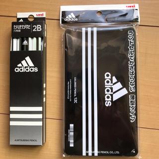 アディダス(adidas)のアディダス 鉛筆 2B 色鉛筆 セット 新学期に(色鉛筆 )