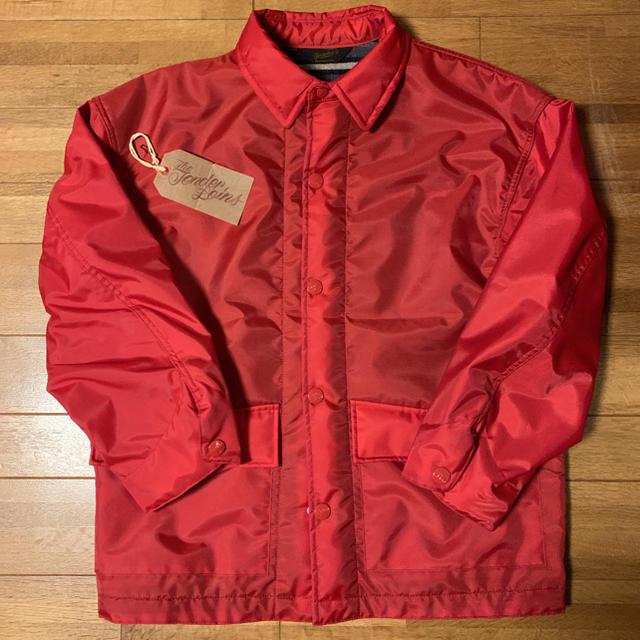 TENDERLOIN(テンダーロイン)の新品! TENDERLOIN ナイロン カバーオール レッド 赤 ブランケット メンズのジャケット/アウター(ナイロンジャケット)の商品写真