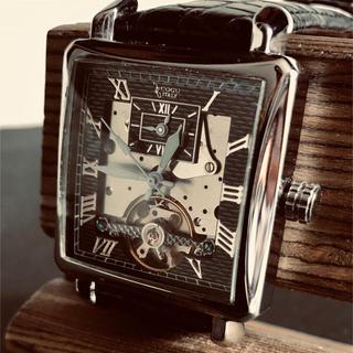 コグ(COGU)のCOGU コジモグッチ 腕時計自動巻 シースルー美品!(腕時計(アナログ))