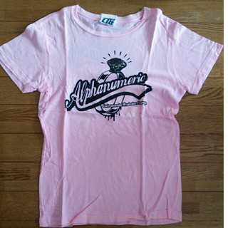 アルファヌメリック(alphanumeric)のALPHANUMERIC Tシャツ レディース M ムラスポ(Tシャツ(半袖/袖なし))