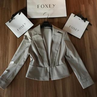 フォクシー(FOXEY)の♡極美品♡フォクシー ストレッチジャケット(テーラードジャケット)