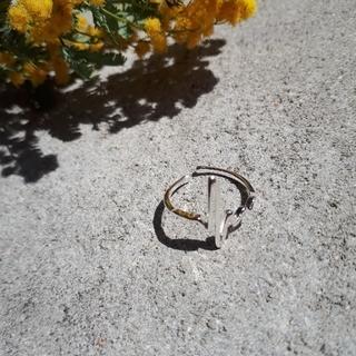 ザラ(ZARA)のdesignリング シルバー925 調節可能(リング(指輪))