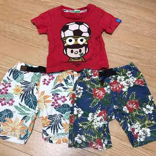 コンベックス(CONVEX)の子供服 Tシャツ 短パン 男の子 まとめ売り(Tシャツ/カットソー)