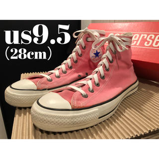 コンバース(CONVERSE)のレア【us9.5】CONVERSE ALL STAR HI 90's USA製 (スニーカー)
