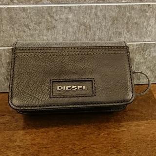 ディーゼル(DIESEL)の非売品 DIESEL キーホルダー付きコインケース(コインケース/小銭入れ)