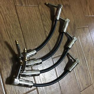 あか様 専用  CAJパッチケーブル ギター シールド 5本セット (シールド/ケーブル)