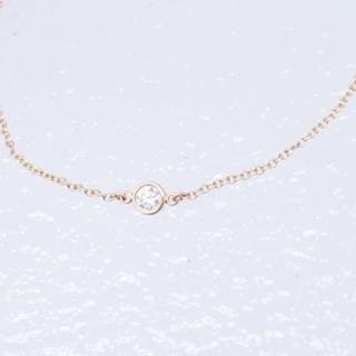 ティファニー(Tiffany & Co.)のティファニー ダイヤモンド ブレスレット エルサペレッティ バイザヤード YG (ブレスレット/バングル)